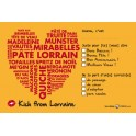 Carte Postale - I love Lorraine