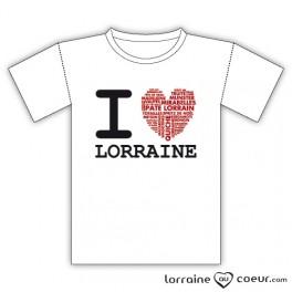 T-shirt Lorraine - I Love Lorraine