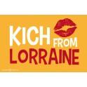 Carte postale - Kich From Lorraine