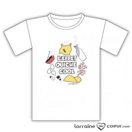 T-shirt - L'effet Quiche Cool
